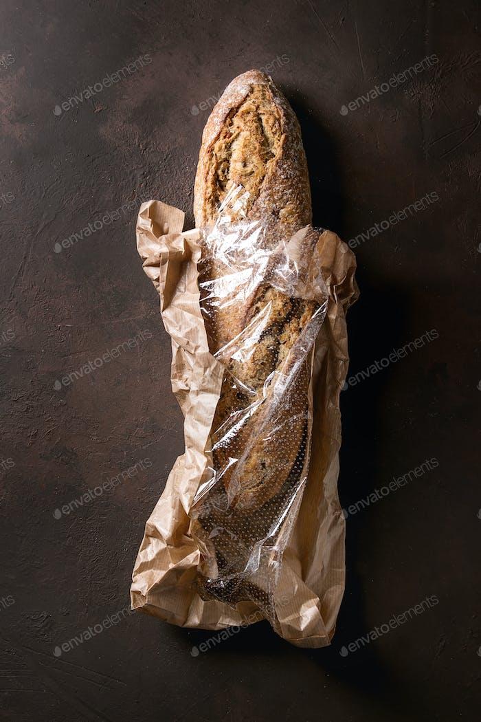 Artisan rye bread