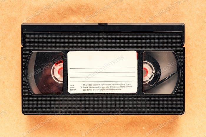 Gebrauchte Video assettenband, Retro-Technologie