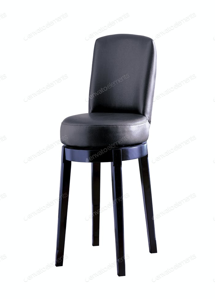 Bar chair isolated