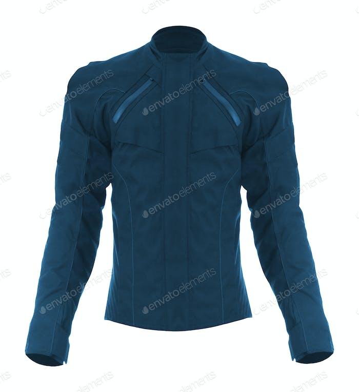 biker jacket, isolated on white