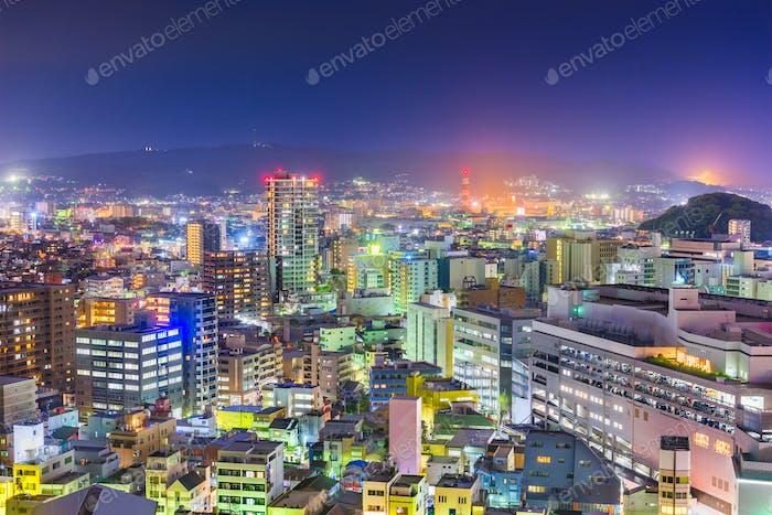 Shizuoka, Japan Innenstadt Stadtbild