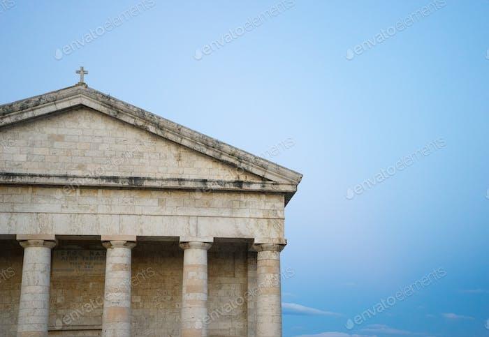 Foto der berühmten Kirche des Heiligen Georg in der alten venezianischen Festung