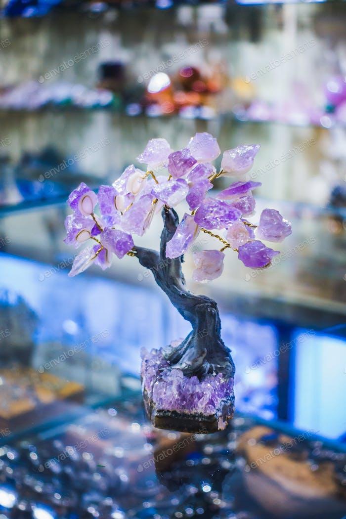 Thumbnail for Precious Amethyst Stone Tree