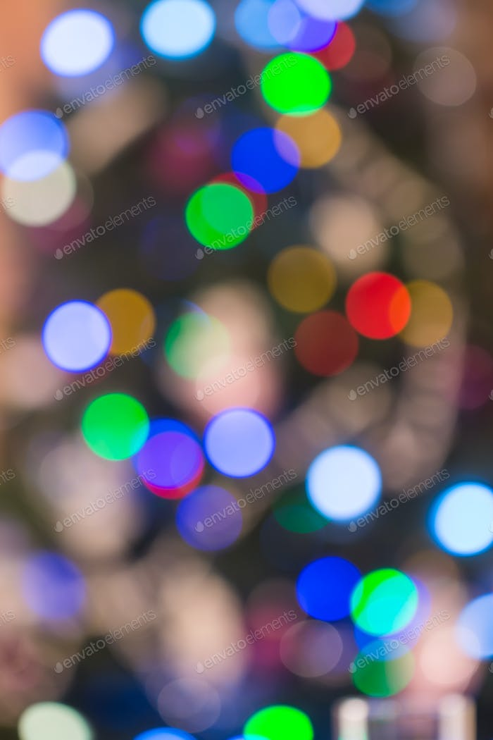 Abstract Bokeh background