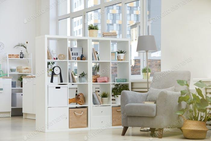 Modern domestic room