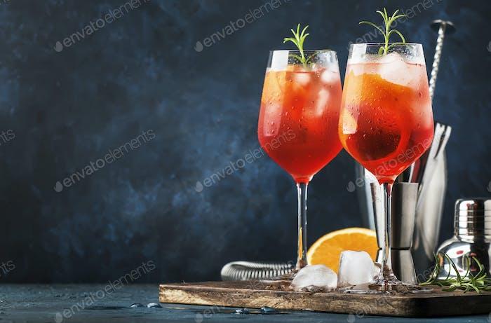 Milano spritzer alkoholischer Cocktail