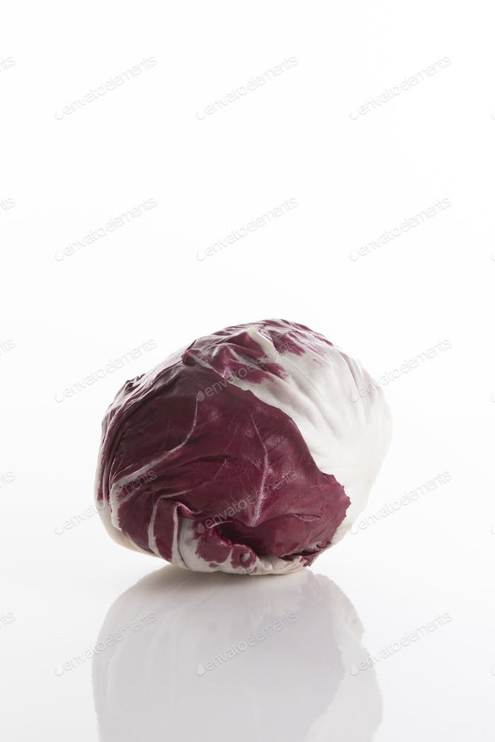 Fresh and small red cabbage
