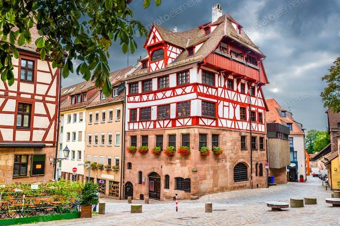 Nuremberg, Germany at Albrecht Durer House