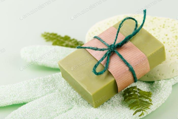 Natural handmade olive soap