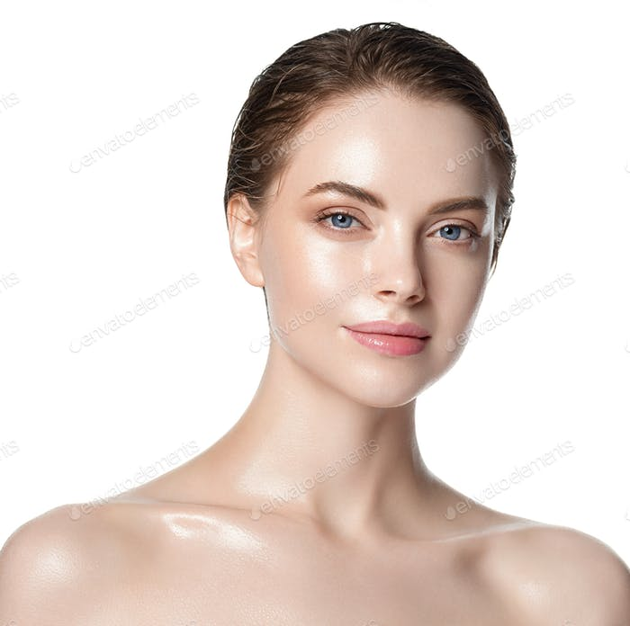 Warm beauty skin woman clean healthy beauty