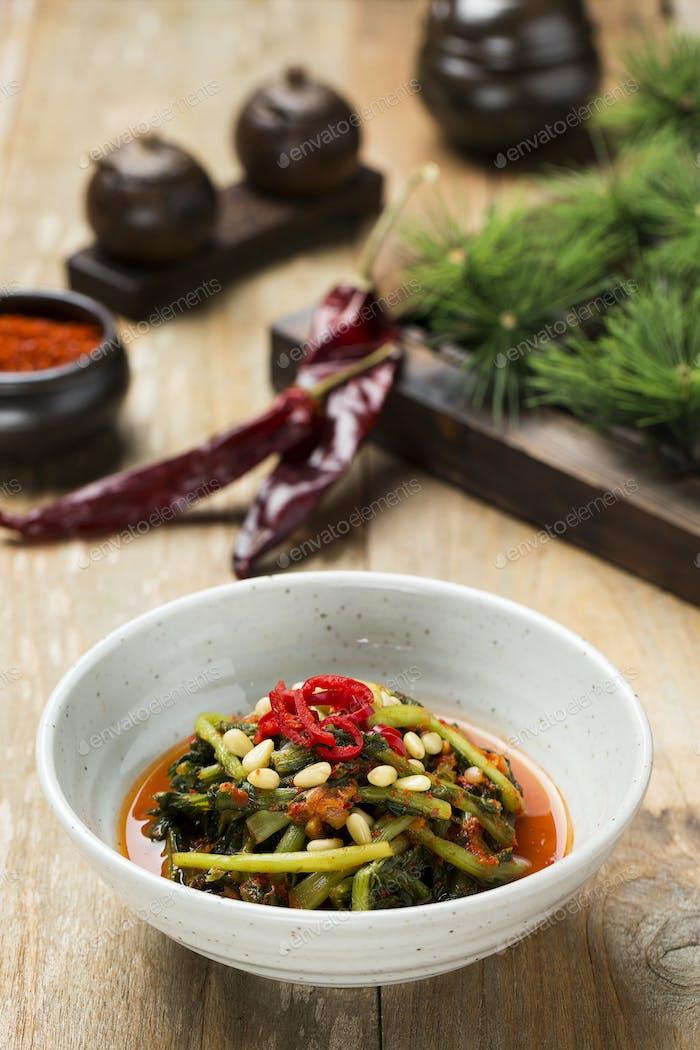 Korean Traditional Food - Kimchi