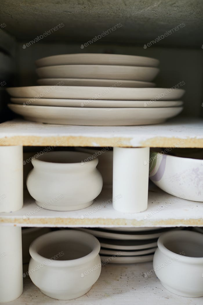 Unfinished Pottery Items