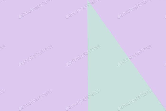 Purple and green geometrical background