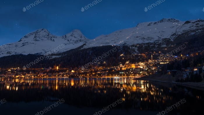 Nachtleben in St. Moritz