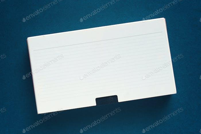 Blank used video casette tape, retro technology