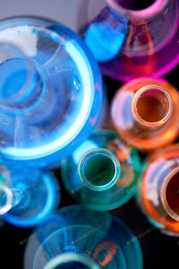 Colorful liquids