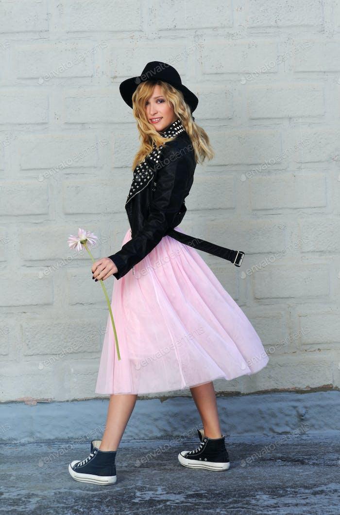 pretty stylish girl