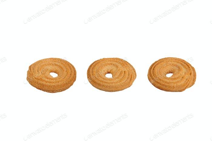 Drei Kekse