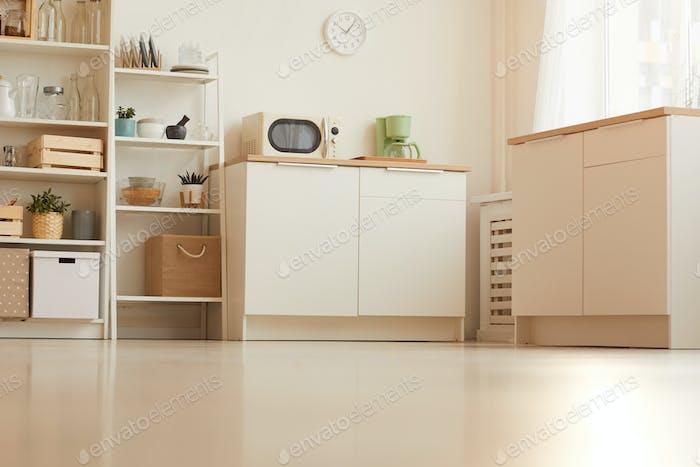 Minimal Kitchen Interior Background