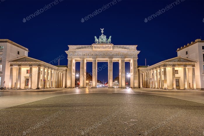 Thumbnail for Das Brandenburger Tor in Berlin