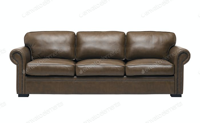 Nice and luxury leather sofa