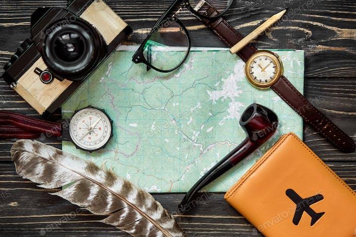 Zeit-zu-Reisekonzept