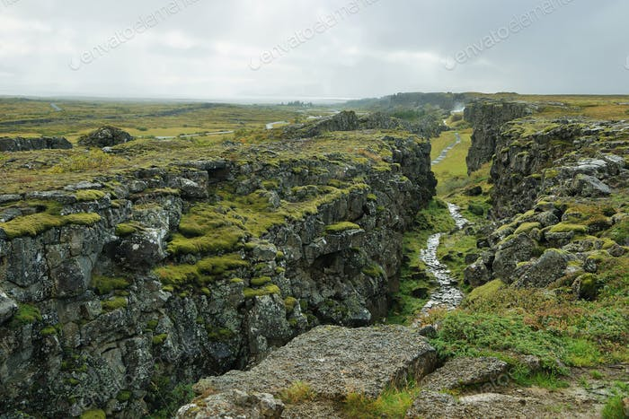 Pingvellir national park in Iceland