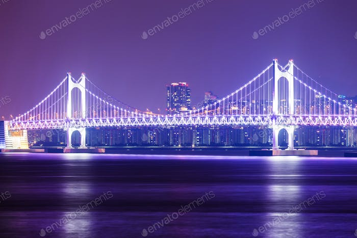 Suspension bridge at Busan