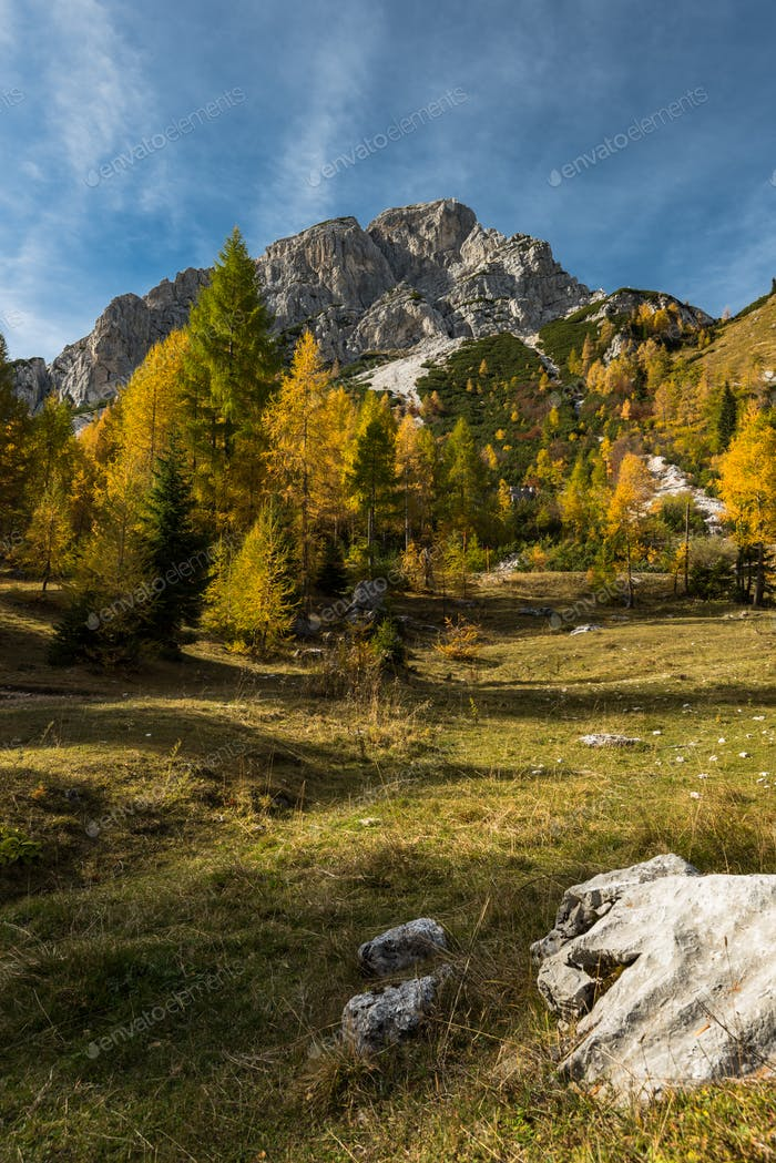 Autumn in SLovenia mountains