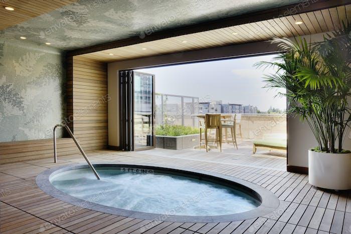 Luxus-Whirlpool
