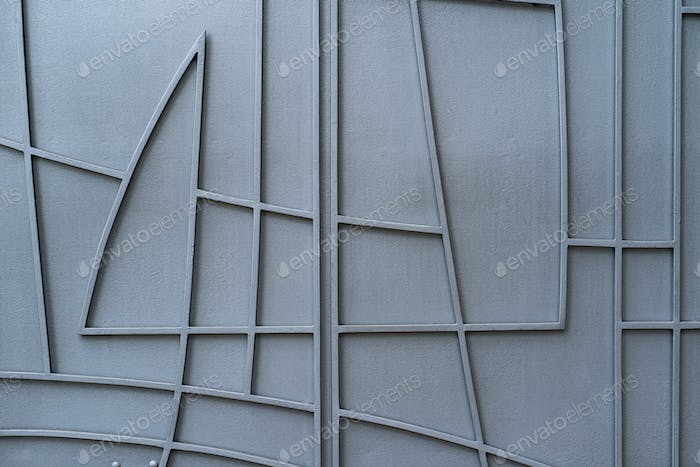 Overlay texture of metal with lines. Grunge background.