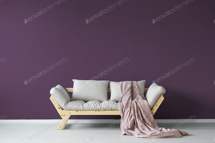 Violeta Día interior de la habitación