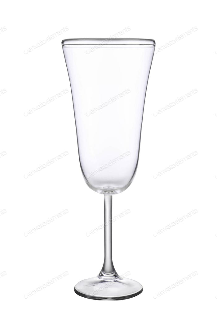 Leeres Weinglas