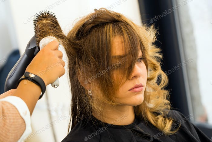 Beauty, hairstyle. Hairdresser salon