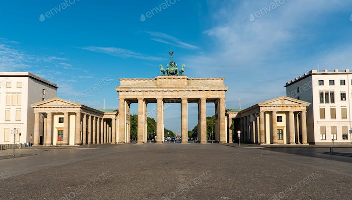 Panorama des Brandenburger Tor