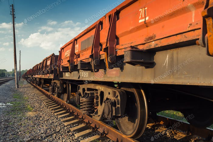 Rail freight car