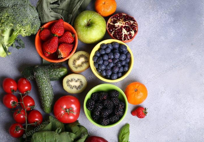 Berries Fruits Vegetables