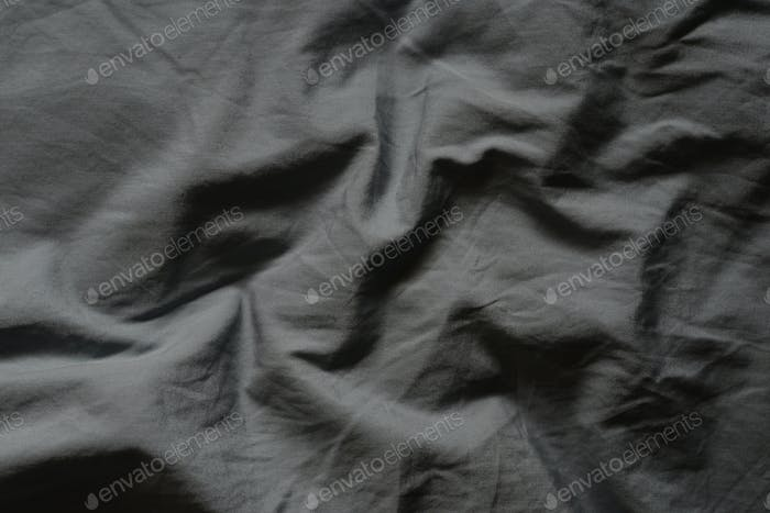 Abstract background of a crumpled cloth