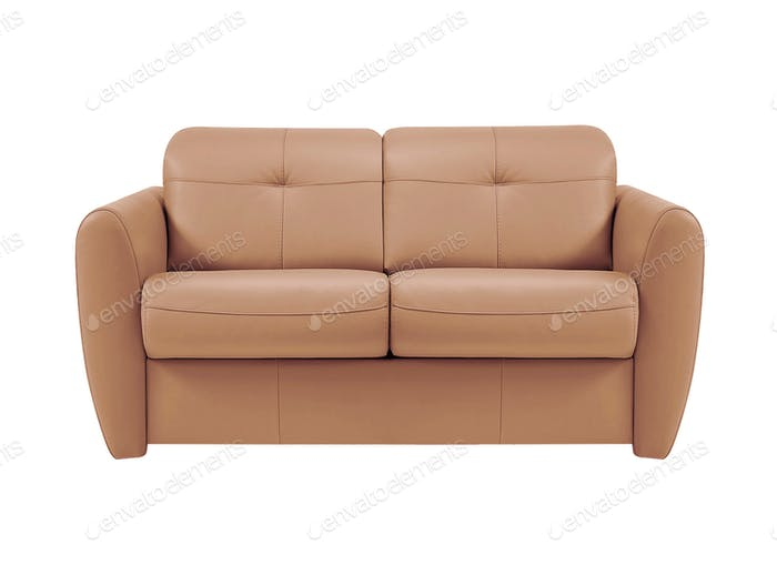 sofa isolated on white background