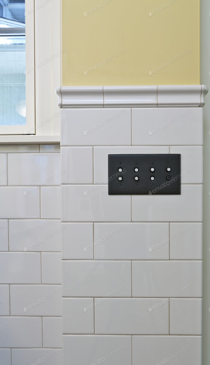 Switches In Bathroom