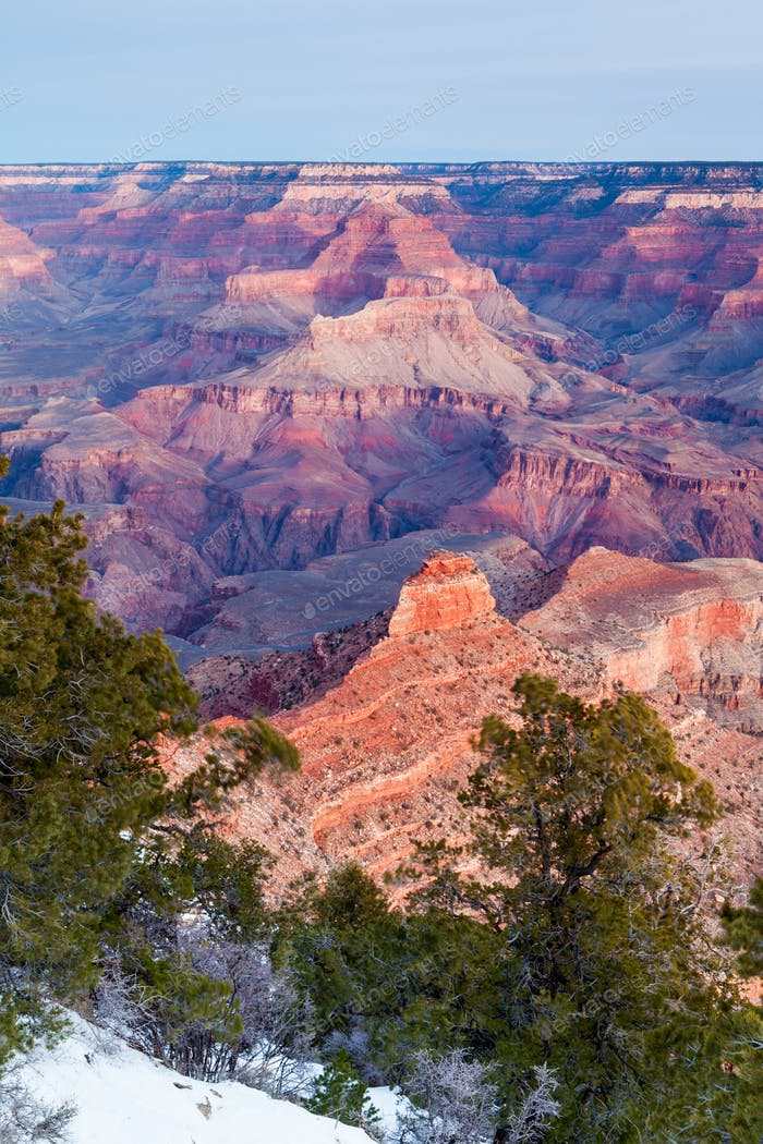 Sunrise at Grand Canyon in the USA