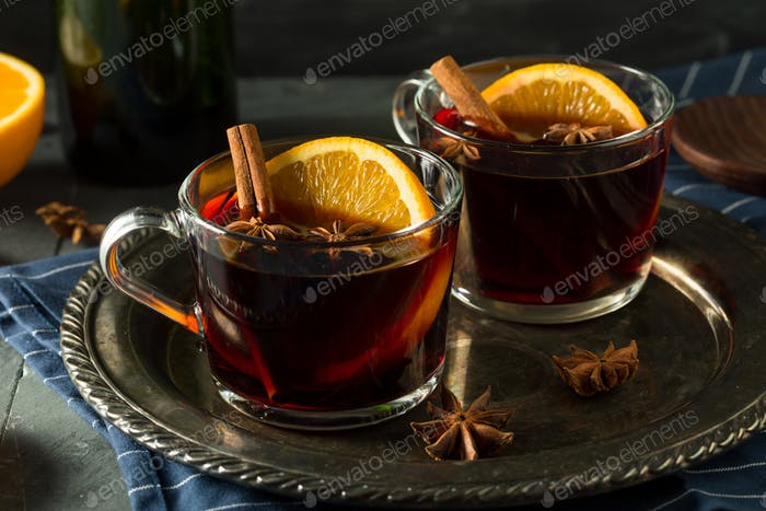 Spiced Homemade Mulled Wine