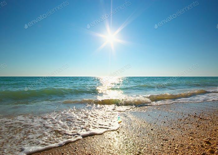 Küste des Strandes