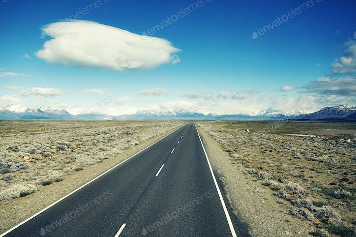Road to the El Chalten, Argentina.