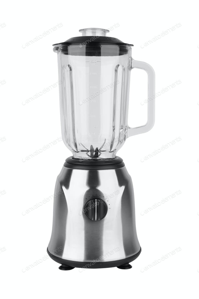 Electric blender isolated on a white background