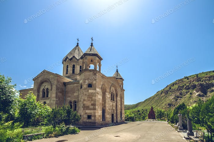 ancient stone church