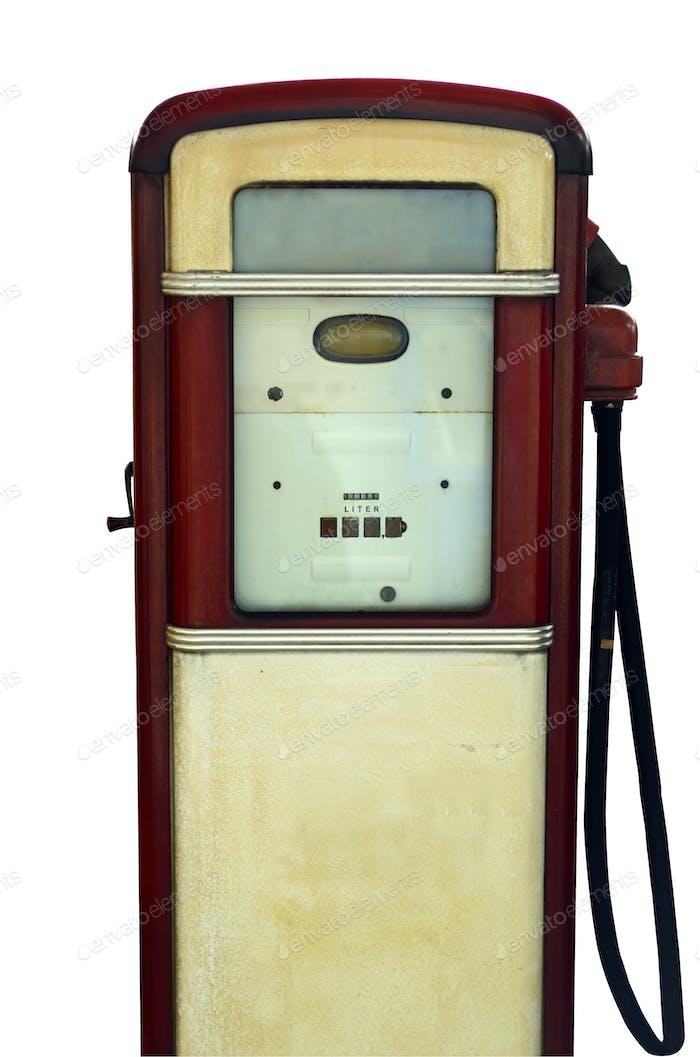 Classic gas pump