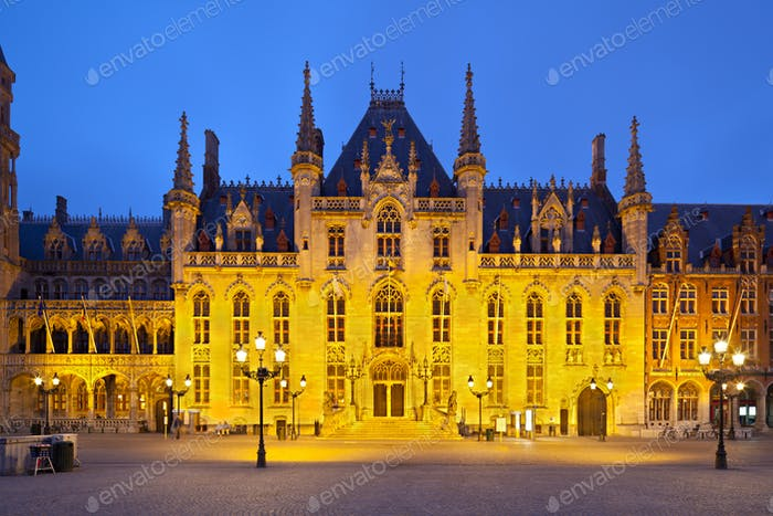 The Provincial Court in Bruges, Belgium