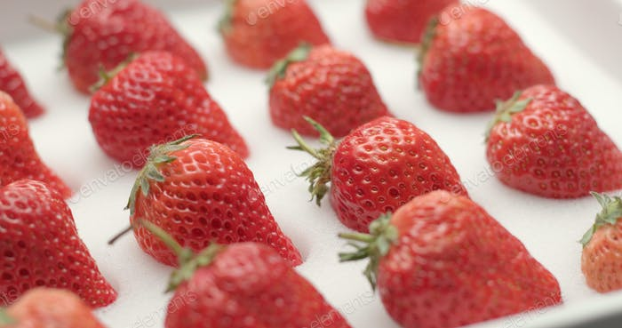 Erdbeere im Paket