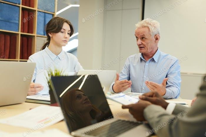 Internship Training in Office